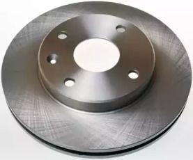 Передний тормозной диск на Шевроле Оптра 'DENCKERMANN B130281'.