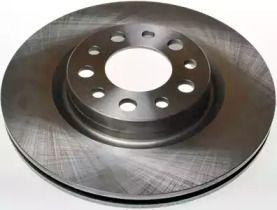 Задний тормозной диск на Альфа Ромео Брера 'DENCKERMANN B130283'.