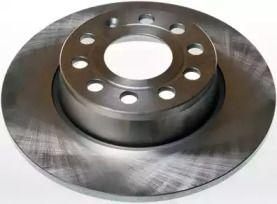 Задний тормозной диск на VOLKSWAGEN BEETLE 'DENCKERMANN B130295'.