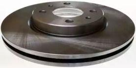 Передний тормозной диск на CITROEN NEMO 'DENCKERMANN B130299'.