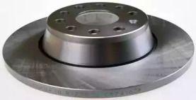 Задний тормозной диск на AUDI Q3 'DENCKERMANN B130302'.