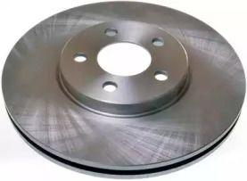 Передний тормозной диск на Крайслер Пт крузер 'DENCKERMANN B130328'.