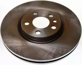 Передний тормозной диск на LANCIA PHEDRA 'DENCKERMANN B130330'.