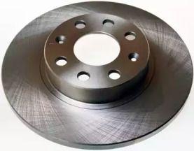 Передний тормозной диск на Фиат Гранде пунто 'DENCKERMANN B130333'.