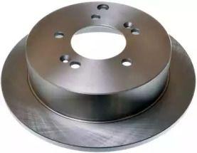 Задний тормозной диск на HYUNDAI TUCSON 'DENCKERMANN B130341'.