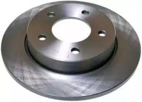 Задний тормозной диск на Мазда 3 'DENCKERMANN B130344'.