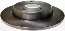 Задний тормозной диск на Мазда 5 'DENCKERMANN B130346'.