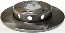 Передний тормозной диск 'DENCKERMANN B130349'.