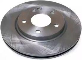 Передний тормозной диск на MERCEDES-BENZ VANEO 'DENCKERMANN B130362'.