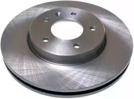 Передний тормозной диск на CHEVROLET CAPTIVA 'DENCKERMANN B130370'.