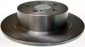 Задний тормозной диск на Тайота Авенсис 'DENCKERMANN B130387'.