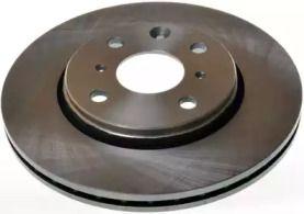 Передний тормозной диск на CITROEN C1 'DENCKERMANN B130419'.