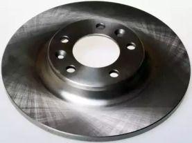 Задний тормозной диск на PEUGEOT RCZ 'DENCKERMANN B130422'.