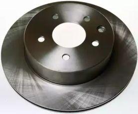 Задний тормозной диск на RENAULT KOLEOS 'DENCKERMANN B130427'.