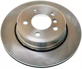 Задний тормозной диск на BMW X3 'DENCKERMANN B130449'.