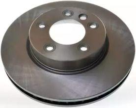 Передний тормозной диск на Порше Кайен 'DENCKERMANN B130457'.