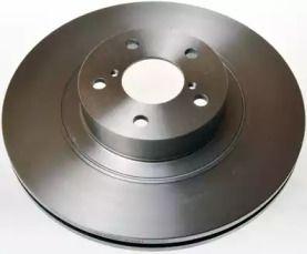 Передний тормозной диск на SUBARU LEGACY 'DENCKERMANN B130461'.