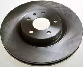 Передний тормозной диск на Альфа Ромео ГТВ 'DENCKERMANN B130467'.