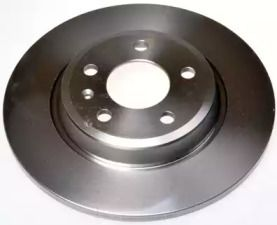 Задний тормозной диск на AUDI A7 'DENCKERMANN B130476'.