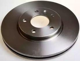 Передний тормозной диск на Шевроле Орландо 'DENCKERMANN B130500'.