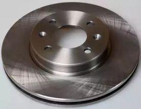 Передний тормозной диск на Хендай Ай20 DENCKERMANN B130519.
