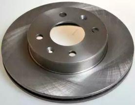 Передний тормозной диск на HYUNDAI GETZ 'DENCKERMANN B130520'.