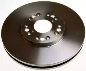 Передний тормозной диск на LEXUS SC 'DENCKERMANN B130544'.