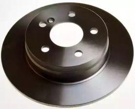 Задний тормозной диск на MERCEDES-BENZ C-CLASS 'DENCKERMANN B130560'.