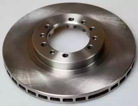 Передний тормозной диск на MITSUBISHI L200 'DENCKERMANN B130577'.