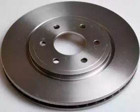 Передний тормозной диск на INFINITI M45 'DENCKERMANN B130583'.