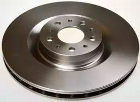 Передний тормозной диск на Фиат 500Л 'DENCKERMANN B130640'.