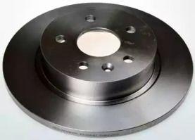 Задний тормозной диск на CHEVROLET TRAX 'DENCKERMANN B130641'.