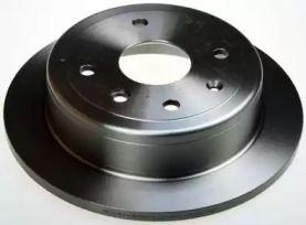 Задний тормозной диск на Дэу Нубира 'DENCKERMANN B130642'.