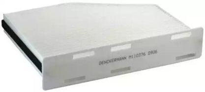 Салонный фильтр на SKODA OCTAVIA A5 'DENCKERMANN M110376'.