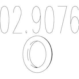 Кронштейн глушителя на Фольксваген Джетта 'MTS 02.9076'.