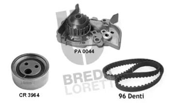 Комплект ГРМ з помпою BREDA LORETT KPA0371A.