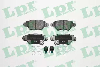 Тормозные колодки 'LPR 05P1227'.
