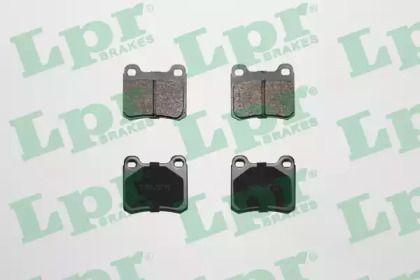 Тормозные колодки 'LPR 05P181'.
