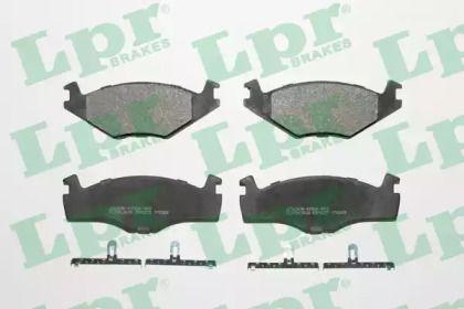Тормозные колодки на SEAT TOLEDO LPR 05P225.