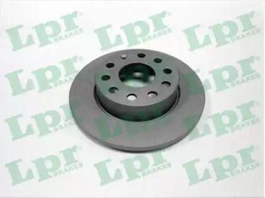 Тормозной диск на Фольксваген Тауран 'LPR A1010PR'.