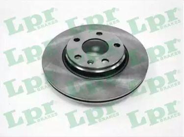 Вентилируемый тормозной диск на VOLKSWAGEN PHAETON 'LPR A1491V'.