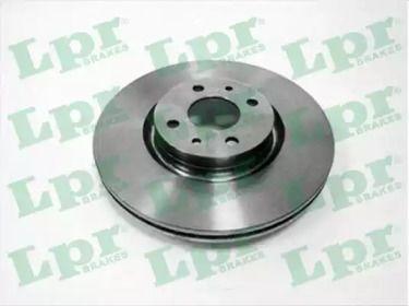 Вентилируемый тормозной диск на LANCIA LYBRA 'LPR A2173V'.