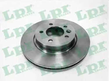 Вентилируемый тормозной диск на Рендж Ровер Спорт 'LPR A4015V'.