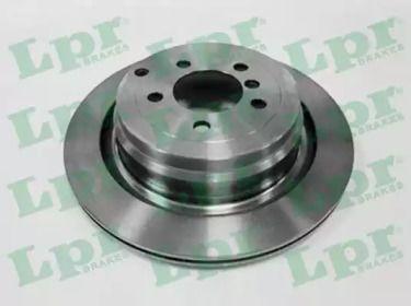 Вентилируемый тормозной диск на Рендж Ровер 'LPR A4019V'.