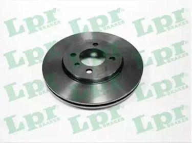 Вентилируемый тормозной диск на БМВ З1 'LPR B2171V'.