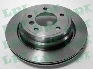 Вентилируемый тормозной диск на BMW 5 'LPR B2461V'.