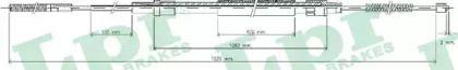 Трос ручника на Фольксваген Гольф 'LPR C0303B'.