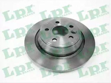 Тормозной диск на RANGE ROVER EVOQUE 'LPR F1018P'.