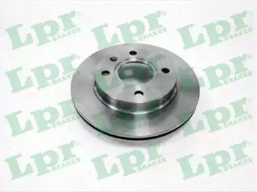Вентилируемый тормозной диск на MAZDA 121 'LPR F1111V'.