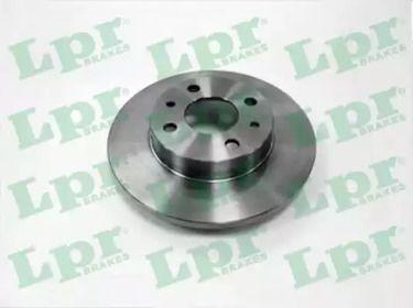Тормозной диск на Фиат Браво 'LPR F2081P'.